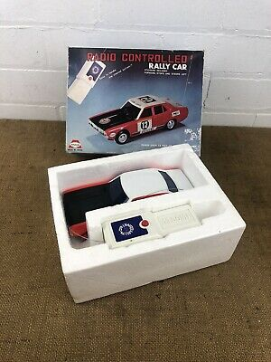 Vintage Asahi 7722 Radio Controlled RC Rally Car, Boxed Made In Japan • 39£