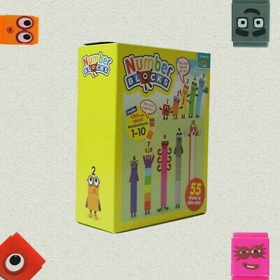 CBeebies Numberblocks ,1-10 Number Blocks 100% GENUINE New Educational Toy • 25.99£