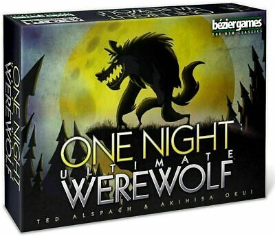 One Night Ultimate Werewolf - Board Game & Sealed Gifts Toys UK-English Version • 6.99£