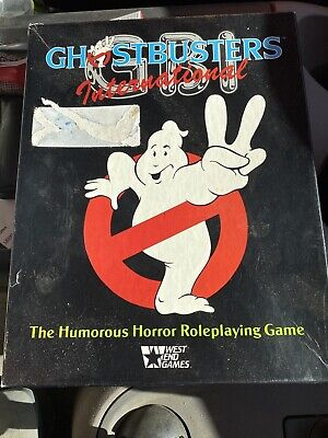 Original Ghostbusters International Board Playing Game • 9.80£
