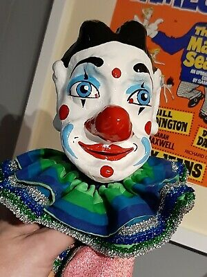 Professional Joey The Clown Punch And Judy Hand Puppet • 33.99£