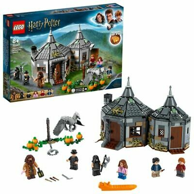 LEGO Harry Potter Hagrid's Hut Hippogriff Rescue Set - 75947 • 39.89£