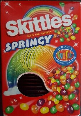 Skittles Sweets Springy Slinky • 1.99£