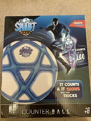 Smart Ball Football - Counts And Lights Up (up To 100) • 7£