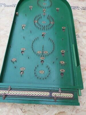 Vintage Chad Valley Bagatelle Pinball Game • 30£