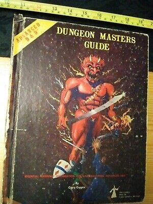 AD&D Dungeon Master's Guide - Revised Ed -TSR 1979 - Advanced Dungeons & Dragons • 14£