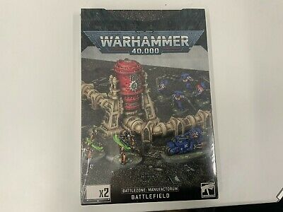 Warhammer 40k Battlezone Manufactorum Battlefield - New And Sealed • 22.99£