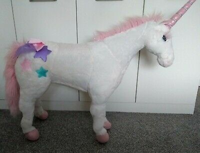 Melissa And Doug  Large Plush Standing Unicorn  • 25£