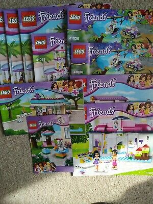 Lego Instruction Manuals Joblot - Friends • 1.50£