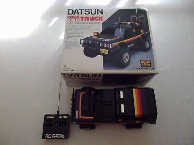 Datsun Truck Radio Controlled Rv Pickup - V.g. Condition & In Full Working Order • 249.95£