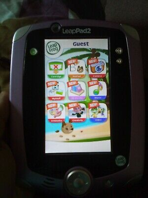 Leapfrog LeapPad 2 With 7 Cartidges And Case! • 4.99£