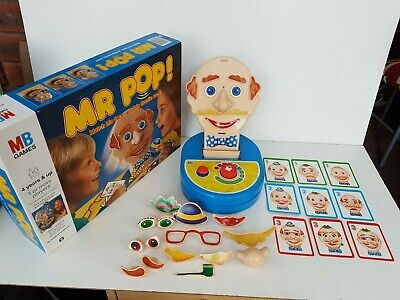 Vintage Mr Pop Game MB Games Dated 1993 Complete Working Family Fun Kids Game  • 10.95£