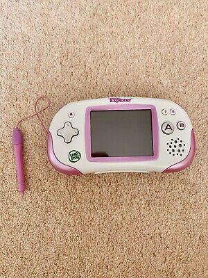 Pink Leapfrog Leapster Explorer, With Case • 8£