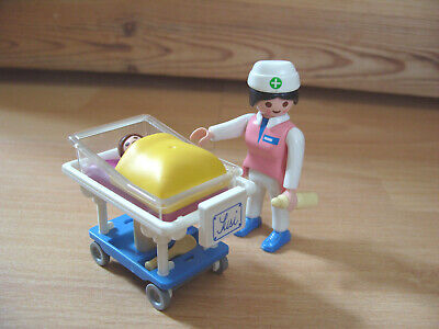 Playmobil 100% Complete Set 3979 Pediatric Nurse With Baby • 17.95£