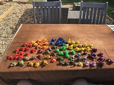 Collection Of 80 Vintage 1990s Mini Boglins By Ideal • 17£