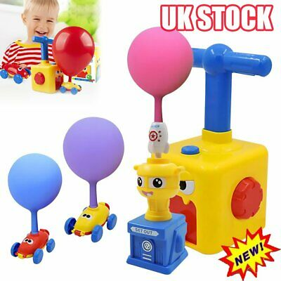 NEW Inertia Balloon Launcher & Powered Car Toy Set Toys Gift For Kids Experiment • 12.67£