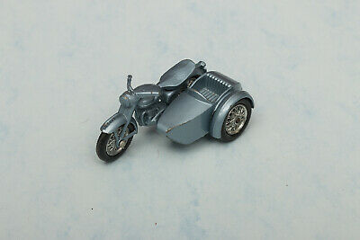 Vintage Lesney Matchbox Triumph T110 Motorcycle And Sidecar • 22£