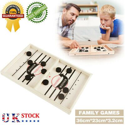 Table Hockey Game Family Games Catapult Chess Parent-child Interactive Funny Toy • 9.99£