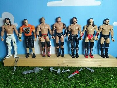 WWE Wrestling Figure X7 & Accessories Bundle • 24.99£