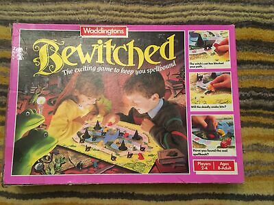 Bewitched Board Game By Waddingtons, Rare, Vintage • 35£