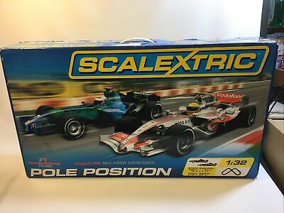 Scalextric Pole Position F1 Full Set Tested Working   • 13.21£