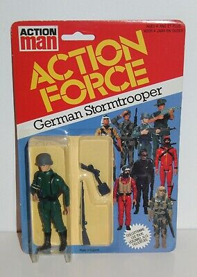 Gi Joe Action Force German Storm Trooper Uk Series 1 Palitoy 1982 Moc Mosc Nip • 65£