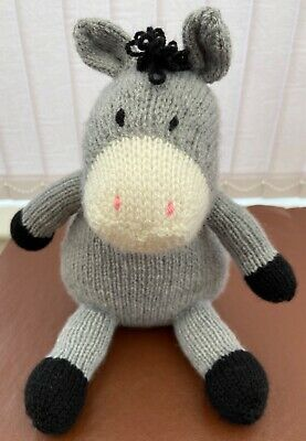 Donald The Donkey - Hand Knitted Soft Toy • 20£