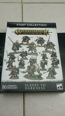 Age Of Sigmar Slaves To Darkness Chaos Warriors X10 Warhammer SEE DESCRIPTION • 26.99£