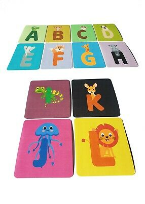 Alphabet Letters Laminated Flash Cards Pack Of 26  Home Learning Or Classroom  • 7.90£
