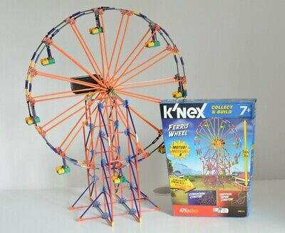 K'NEX Ferris Wheel Motorised 12436/71312 COMPLETE WITH BOX AND INSTRUCTIONS • 17.50£