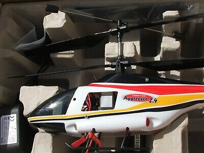 Twister Aggressor 2.4 Radio Controlled Helicopter- Rtf • 110£