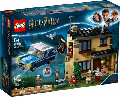 LEGO Harry Potter 4 Privet Drive House Set 75968 Age 5 797pcs • 54.99£