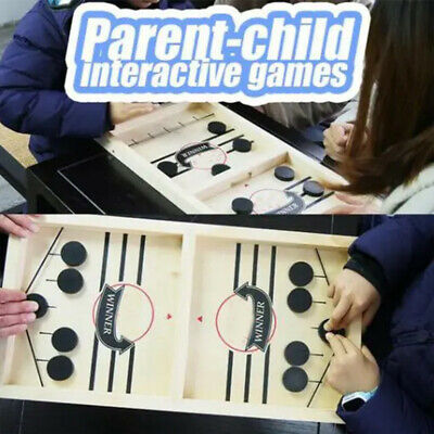 Family Games Table Hockey Game Catapult Chess Parent-child Interactive Toy Gift • 9.39£