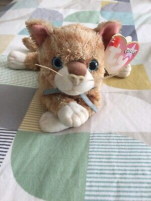 TY Beanie Baby - Mattie The Cat (Collectible, With Tags) • 3£
