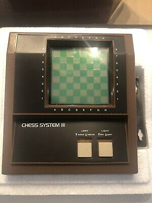 Electronic LCD Chessboard New Boxed • 24£