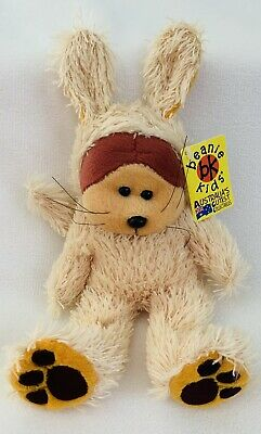 Skansen Beanie Kids, Waggs The Dog, 2001, Mint, Tag, Toy, Bear NEW #21 • 13.85£