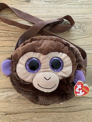 TY Gear Coconut The Monkey Plush Shoulder Cross Body Messenger Bag BNWT • 3.99£