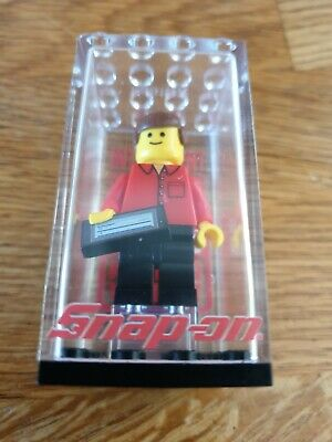 Snap On Lego Diagnostic Figure Man Extremely Rare Special Edition No Hat • 56£