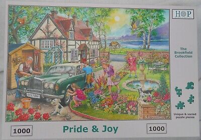 House Of Puzzles HOP - Pride And Joy - 1000 Piece Jigsaw • 4£