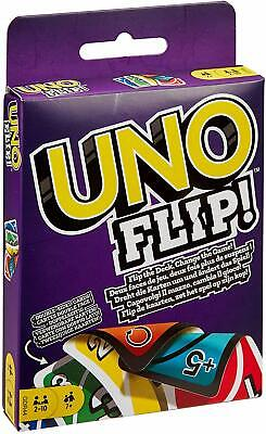 Uno Flip Card Game Mattel Multi Colored Exciting Twists Family Fun Children Pack • 3.75£