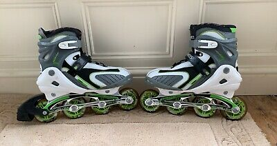 Vivess In-Line Rollerblades Skates UK 8 - Used But In Great Condition • 25£