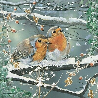 Red ROBIN Snowy Winter Christmas Jigsaw Puzzle | 1000 Piece | New • 14.99£