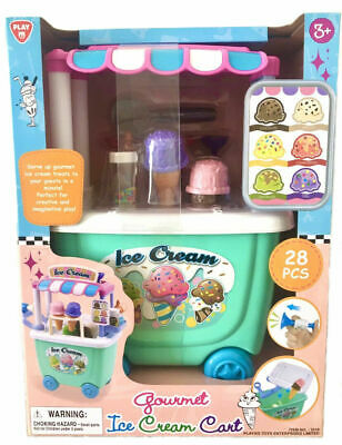 PlayGo Ice Cream Cart Gourmet Colourful Ice-cream Cart Kids Toys  NEW • 18£