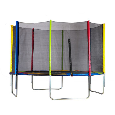 Big Air 10ft Trampoline With Safety Enclosure • 149.95£