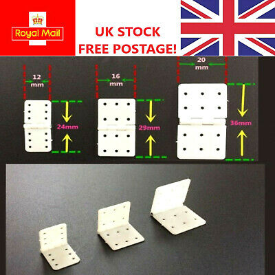 Hinges For RC Plane Glider Wing Elevator Or Rudder Pin Hinge UK STOCK FREE POST  • 4.89£