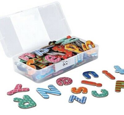 Magnetic Letters, 100 Pieces - Brand New In Sealed Box • 5£