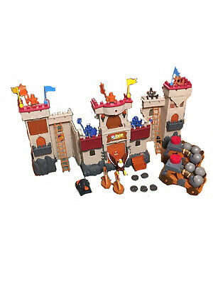 Fisher Price Imaginext Castle With Extra Figures & Accessories • 5.50£