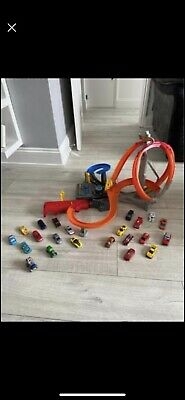 Hot Wheels Spin Storm Playset And Cars • 3.40£