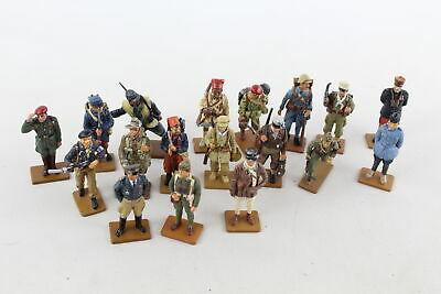 18 X Assorted DEL PRADO Collection France Spain Australia Military Lead Figures • 8£