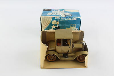 Vintage Boxed SCHUCO Musical Ford Coupe T 4014 Clockwork Tinplate Toy Model Car • 28£